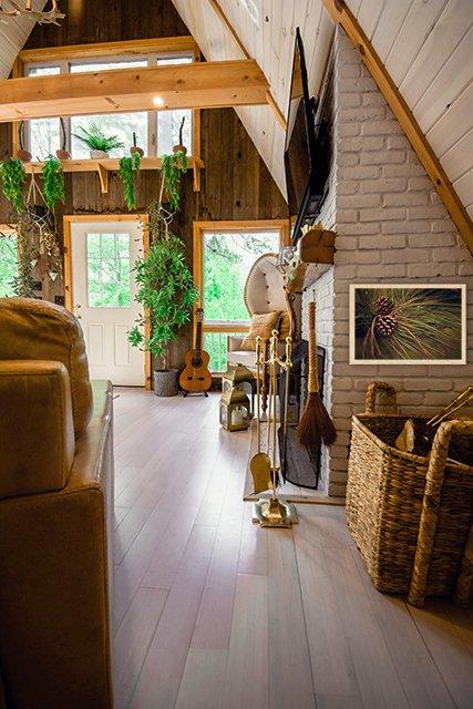 Unsplash photo inside cabin